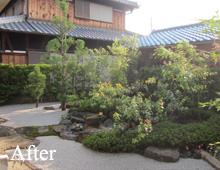 庭のリフォームアフター